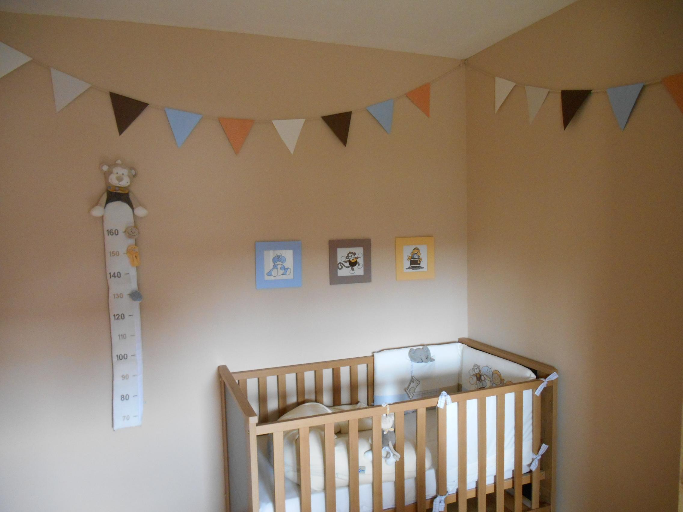 Une guirlande de fanions pour la chambre de bébé – Des papiers et ...