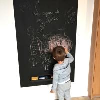 Réaliser un tableau mural en ardoise: un jeu d'enfant!